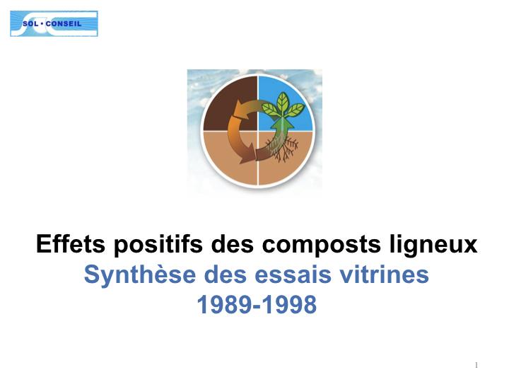 Commentaires de Bernard K. Martin (BKM), partenaire de l'expérience : Dia 1 - Ces essais avaient été précédés par des expériences in vitro à Sol-Conseil et à l'Institut de Pédologie de l'EPFL - Ecole Polytechnique Fédérale de Lausanne