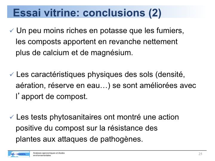 BKM : Dia 7 - De tels résultats montrent l'importance de l'humus, Patrimoine de l'Humanité !
